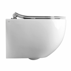 Унитаз подвесной AXA Glomp Norim, безободковый, белый (0201001)