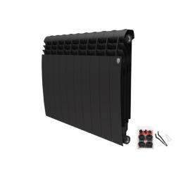 Радиатор отопления Royal Thermo BiLiner 500 new/Noir Sable - 12 секций