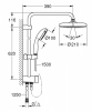 Душевая система Flex Grohe Tempesta System 210 (26381001)