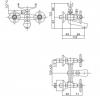 Смеситель для ванны Bianchi Old Fashion (VSCOLF1024#OLF00CRM)