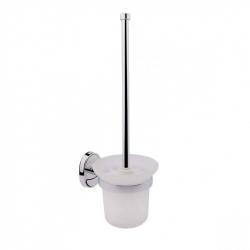 Туалетная ершик настенный Potato P2910, матовое стекло (11934)
