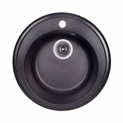 Мойка Fosto D510 SGA-420, черный (14018)