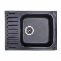 Мойка Fosto 64x49 SGA-420, черный (14023)