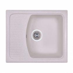 Кухонная мойка Fosto 58x50 SGA-800, светло-бежевая (14030)
