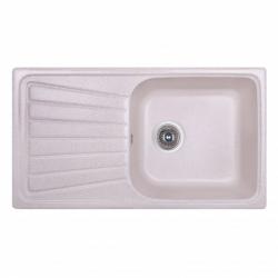 Кухонная мойка FOSTO 81х46 SGA-800 светло-бежевая (14032)