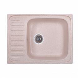 Кухонная мойка Fosto 64x49 SGA-806, коричневая (14039)