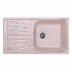 Кухонная мойка Fosto 81x46 SGA-806 цвет коричневый (14040)