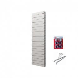 Радиатор отопления биметаллический Royal Thermo PianoForte Tower/Bianco Traffico - 18 секций