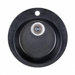 Кухонная мойка Fosto D470 SGA-420 черная (15759)