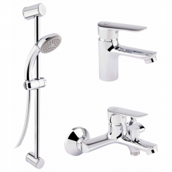 Набор смесителей для ванны QT Set CRM 35-211 (16512)