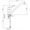 Смеситель для мойки Bianchi Delta (LVMSTR2000#DLTACRM)