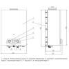 Колонка газовая дымоходная Thermo Alliance Compact JSD20-10N-QB 10л EURO+ (24630)