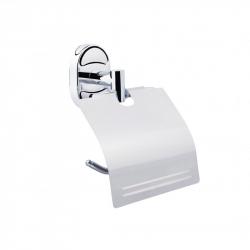 Держатель для туалетной бумаги с крышкой Lidz (CRM)-114.03.01