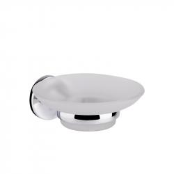 Мыльница настенная матовое стекло GF (CRM)/S- 2802