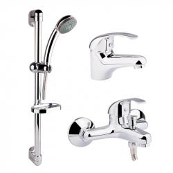 Набор смесителей для ванной Qtap Set CRM 40-111 (24066)