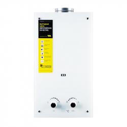 Колонка газовая дымоходная Thermo Alliance Compact JSD20-10GE 10л стекло белое (24629)