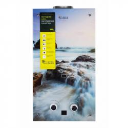 Колонка газовая дымоходная Thermo Alliance Compact JSD20-10GA 10л стекло море (25151)