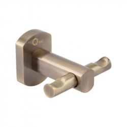 Крючок двойной настенный Q-Tap QT Liberty ANT 1154 (25180)
