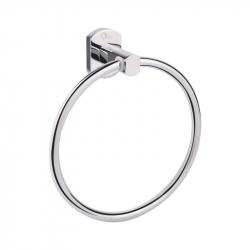 Держатель для полотенца кольцо Qtap Liberty CRM 1160 хром