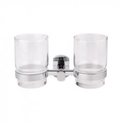 Двойной стакан настенный Q-Tap QT Liberty CRM 1155 (25616)