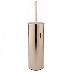 Туалетный ершик Qtap Liberty ORO 1150 напольный/настенный золото