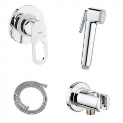 Душевой гарнитур с гигиеническим душем Grohe BauLoop 111042