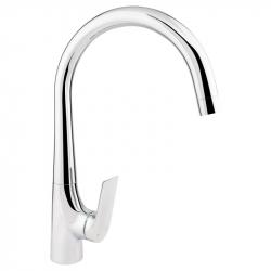 Смеситель для кухни Q-Tap Elegance CRM 007F (27918)