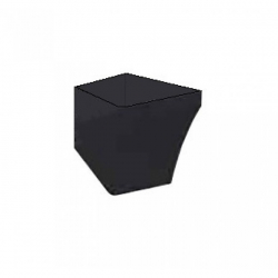 Полупьедестал для раковины IDEVIT Vega, черный 2803-0000-07