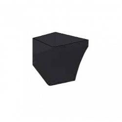 Полупьедестал для раковины IDEVIT Vega (2803-0000-07), черный