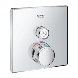 Внешняя часть смесителя для душа Grohe SmartControl (29123000) Термостат для встраиваемого монтажа на 1 выход