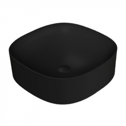 Умывальник накладной AXA Wild 45х45см, черный матовый (3008007)