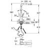 Смеситель для кухни Grohe Zedra с выдвижной лейкой (32553002)