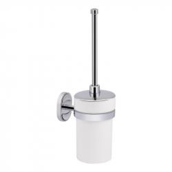 Туалетный ершик с крышкой настенный Lidz (WHI)-114.05.02