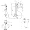 Душевая система Qtap Grand BCR 1004 черный/хром