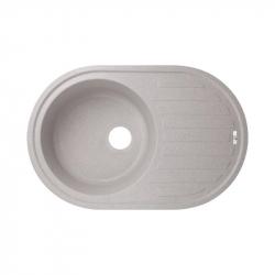 Кухонная мойка Lidz (GRA-09) 780x500/200 серая