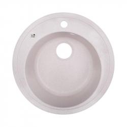 Кухонная мойка Lidz (COL-06) D510/200 бежевая (33714)