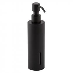 Дозатор для жидкого мыла Qtap Liberty BLM 1152-1 черный, круглый