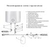 Водонагреватель электрический Thermo Alliance вертикальный Slim 50 л мокрый ТЭН 1,5 кВт (D50V15Q1)