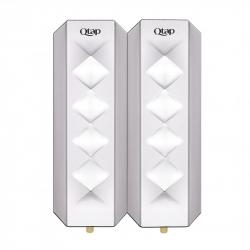 Дозатор для жидкого мыла двойной Qtap Dávkovač mýdla DM350CP2, 760ml