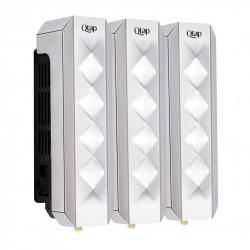 Дозатор для жидкого мыла тройной Qtap Davcovac mydla DM350CP3, 990ml