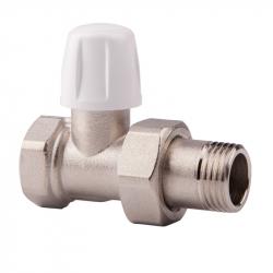 Вентиль прямой ручной  простой регулировки для радиатора 1/2 Icma №815