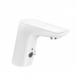 Смеситель для раковины бесконтактный Kludi Balance, белый (5220091)