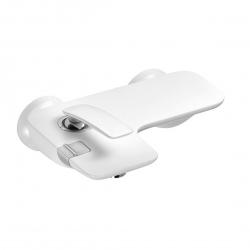 Смеситель для ванны Kludi Balance, белый/хром (524459175)