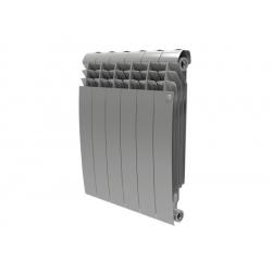 Радиатор отопления биметаллический Royal Thermo BiLiner 500 Silver Satin - 6 секций