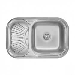 Кухонная мойка Imperial HQ-TF 02 0,8 180мм satin из нержавеющей стали (7849)