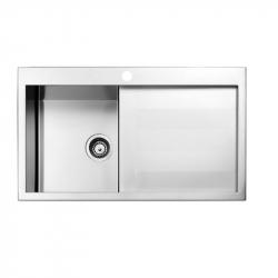 Кухонная мойка Apell Amalthea (SQ861ILSC) 860х500 LEFT
