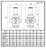 Редуктор давления резьбовой Icma 246 3/4 (91246AE05)