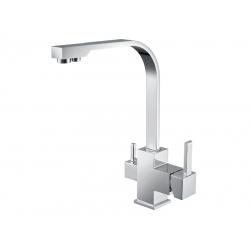 Смеситель кухонный ASIGNATURA Twin Standart с подключением питьевой воды (80544600)