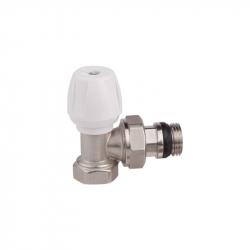 Вентиль угловой ручной простой регулировки для железной трубы Icma №802+940 (8386)
