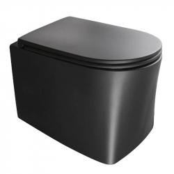 Унитаз подвесной AXA DP Norim, черный матовый (8401007)